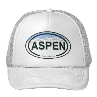 Aspen Colorado Mountain Tag Hat