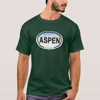 Aspen Colorado Mountain Tag Shirt