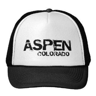 Aspen Colorado simple black hat