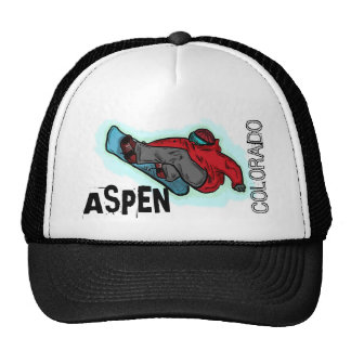 Aspen Colorado snowboarder shred hat