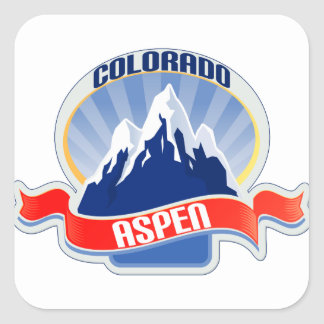 Aspen, Colorado Square Sticker