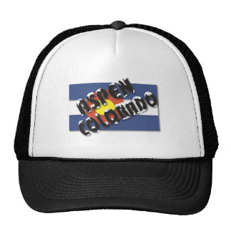 Aspen Colorado - State Flag Hats