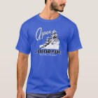 Aspen Colorado USA Retro Design T-Shirt