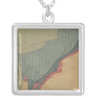 Aspen District Sheet Silver Plated Necklace