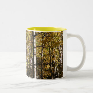 Aspen Gold Two-Tone Coffee Mug
