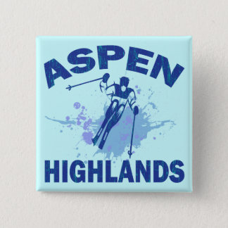 ASPEN HIGHLANDS 15 CM SQUARE BADGE