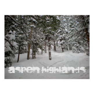 Aspen Highlands Poster