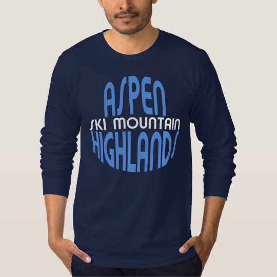 Aspen Highlands Ski Mountain T-Shirt