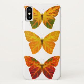 Aspen Leaf Butterflies iPhone X Case