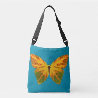 Aspen Leaf Butterfly 1 Crossbody Bag