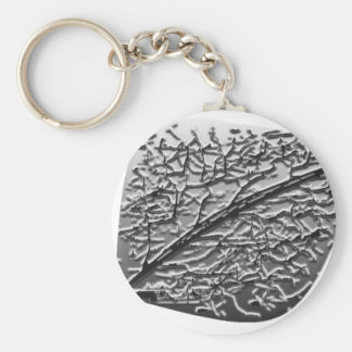 ASPEN LEAF KEY RING