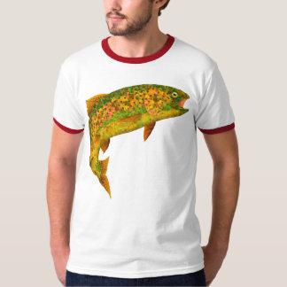 Aspen Leaf Rainbow Trout 2 T-Shirt