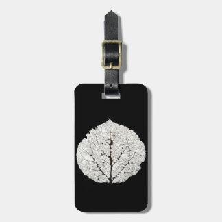 Aspen Leaf Skeleton 1 Luggage Tag