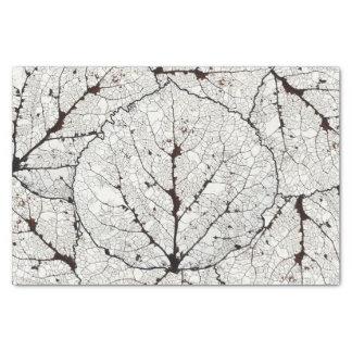 Aspen Leaf Skeleton 1 Tissue Paper
