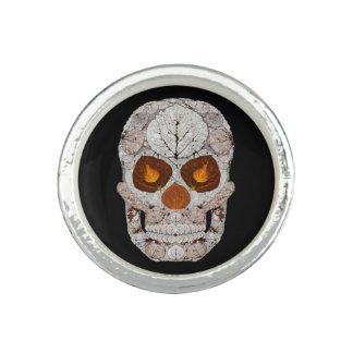 Aspen Leaf Skull 11