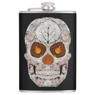 Aspen Leaf Skull 11 Flasks