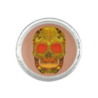 Aspen Leaf Skull 12