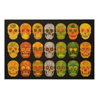 Aspen Leaf Skull Poster 2018