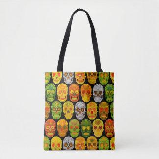 Aspen Leaf Skulls seamless pattern 2018 Tote Bag