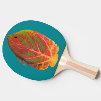 Aspen Leaf Tropical Fish 1 Ping Pong Paddle