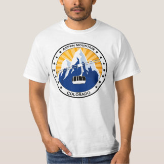 Aspen Mountain Colorado T-Shirt