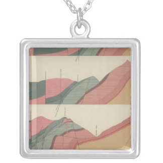 Aspen Mountain Sheet 2 Silver Plated Necklace