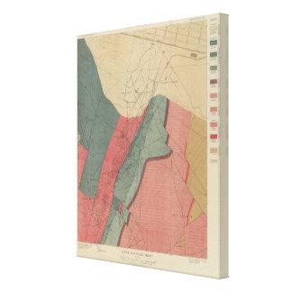 Aspen Mountain Sheet Canvas Print