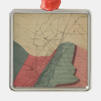 Aspen Mountain Sheet Christmas Ornament