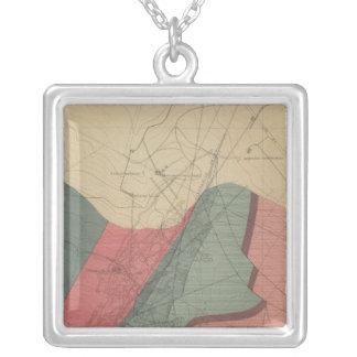 Aspen Mountain Sheet Silver Plated Necklace