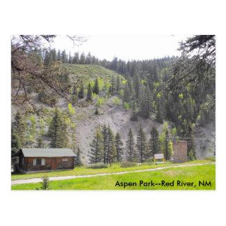 Aspen Park  (B) Postcard
