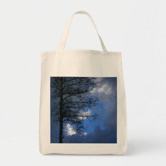 Aspen Silhouette on Blue Sky Bags