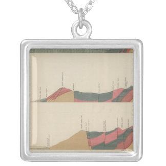 Aspen Special Sheet Square Pendant Necklace