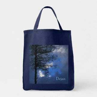 Aspen Spring Evening Grocery Tote Bag