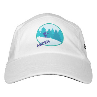 Aspen Teal Ski Personalized Hat