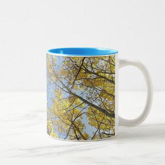Aspen Tree Two Tone Mug