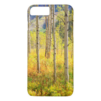 Aspen Trees in Autumn in the Rockies iPhone 8 Plus/7 Plus Case