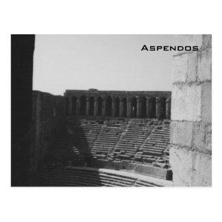 Aspendos Post Card