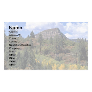 Aspens, Colorado Rockies Business Cards