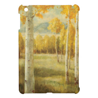 Aspens in Autumn iPad Mini Cases