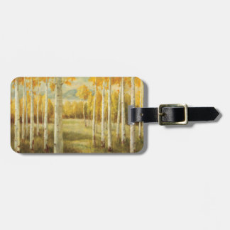 Aspens in Autumn Luggage Tag