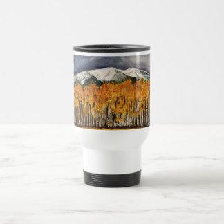 Aspens Watercolor Art Coffee Mug