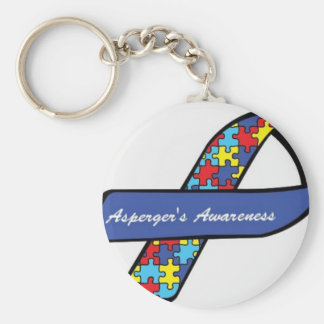 Asperger's Awareness Ribbon Key Ring