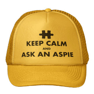 aspergers syndrome keep calm ask an Aspie Cap