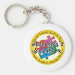 Asperger's Syndrome Puzzle Pin Key Chains