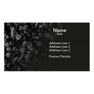 Asphalt Gravel Business Card Templates