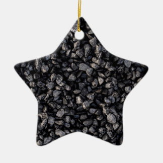 Asphalt Gravel Christmas Ornament