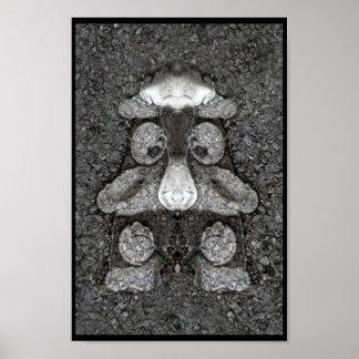 Asphalt Man Poster