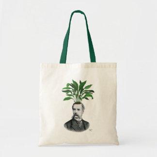 Aspidistra Head Plant Head Budget Tote Bag