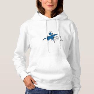 Aspire PAC Women's Hoodie - White