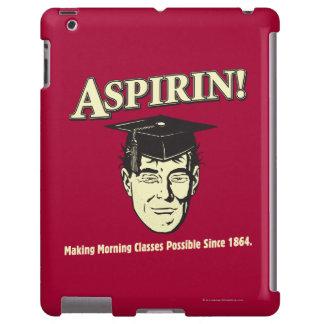 Aspirin: Make Morning Class Possible iPad Case